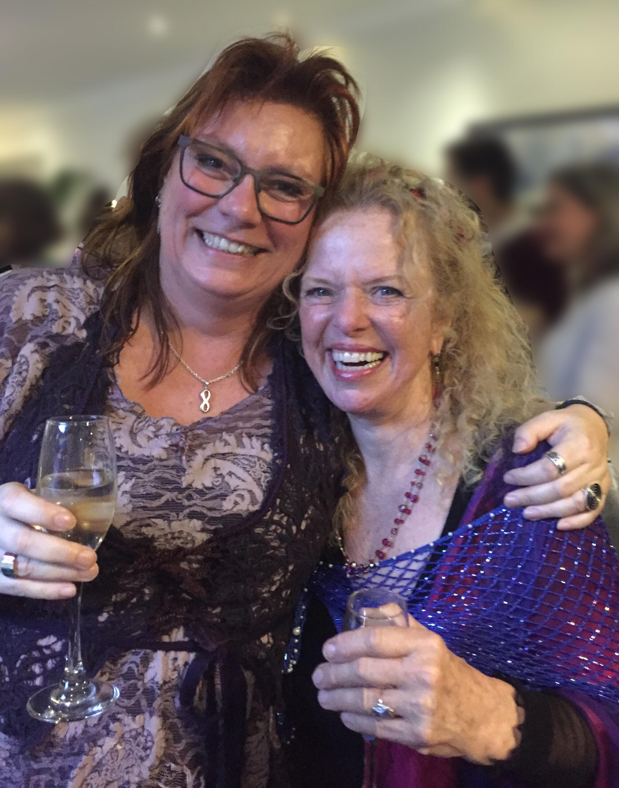 Donna Eden og Marianne Jacobsen, 2017