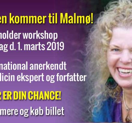 Donna Eden kommer til Malmø!