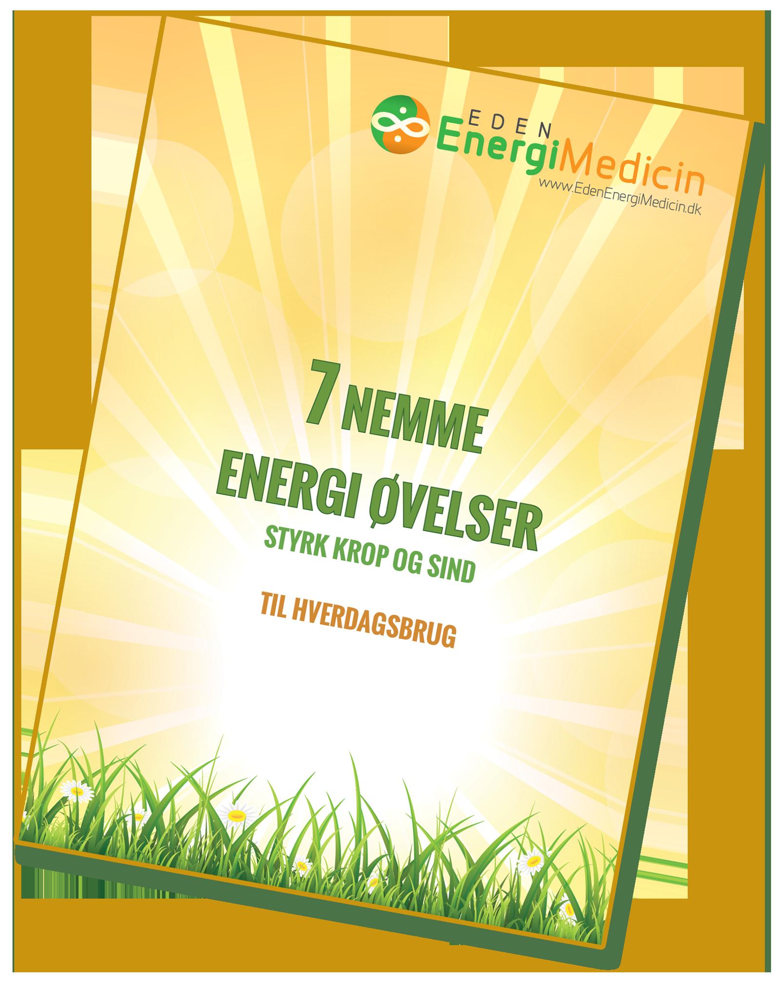 Få gratis 7 nemme energi øvelser i din inbox
