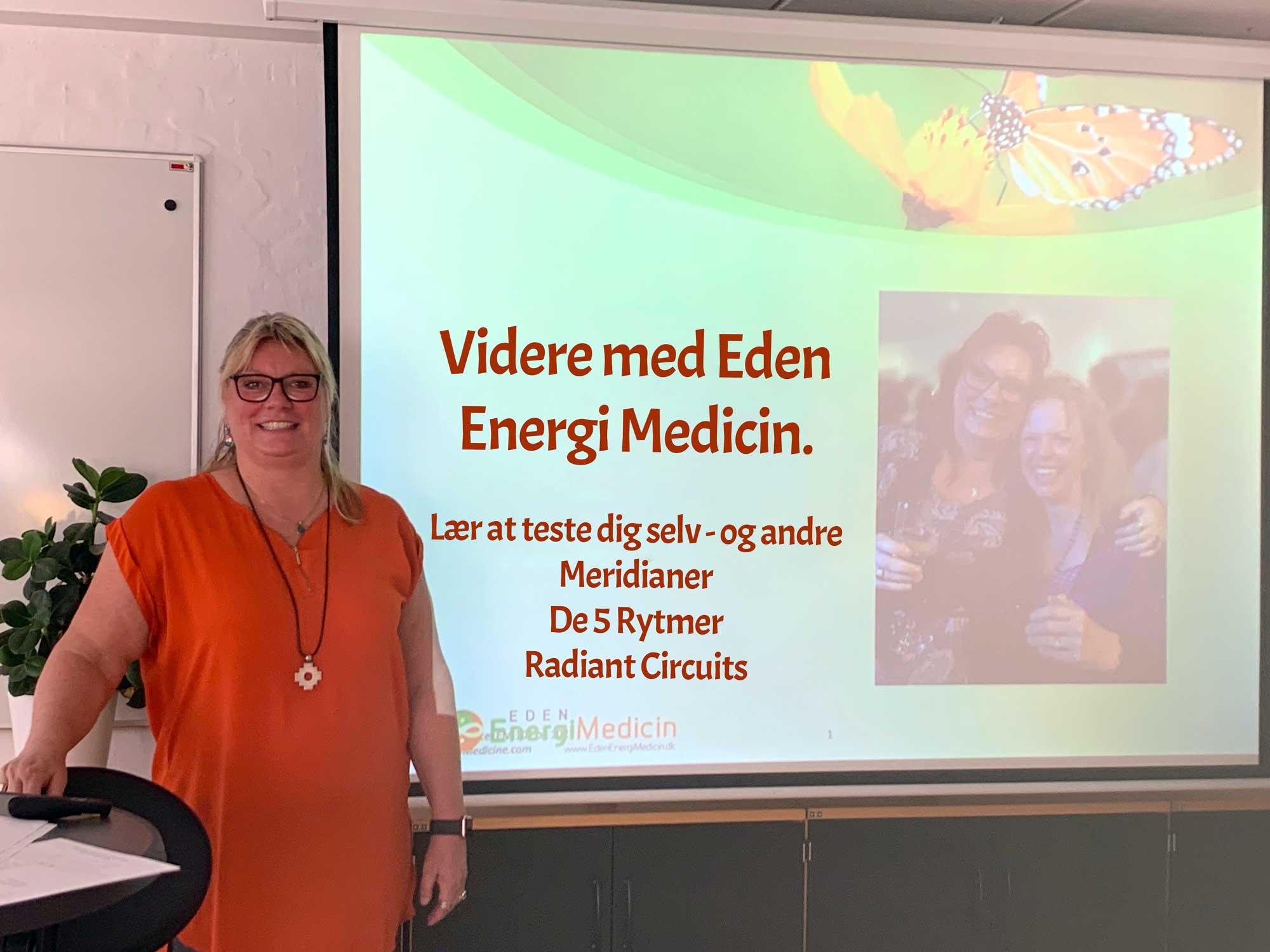 Kursus - Videre med Eden Energi Medicin