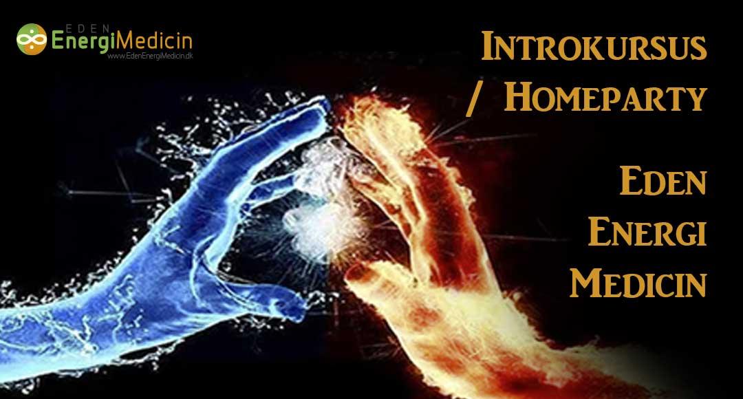 Intro kursus - homeparty - i energi medicin