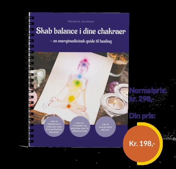 Ny bog: Skab abalance i dine chakraer - en energi medicinsk guide tll healing